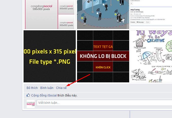 TIPS Chạy quảng cáo Album Facebook, Note Facebook 2