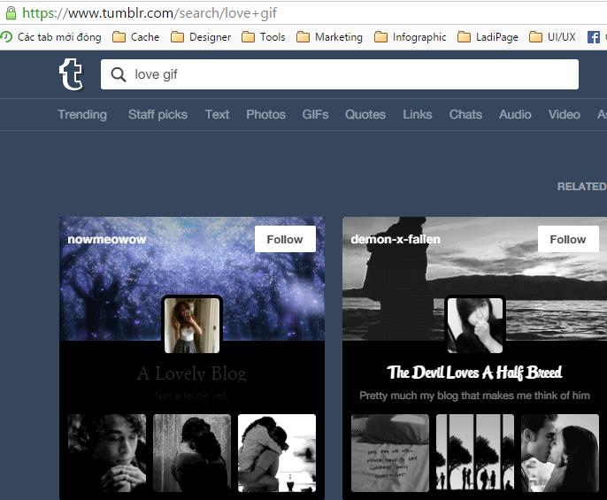 Tumblr Search Gif