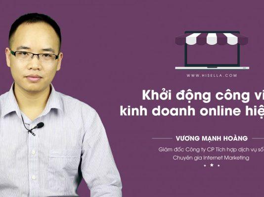 Bắt đầu kinh doanh online trên mạng - hisella.vn